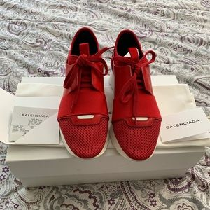 Balenciaga women's race runner sneakers